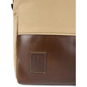 Topo Designs Heritage Canvas Series Mochila, duck brown canvas/dark brown leather
